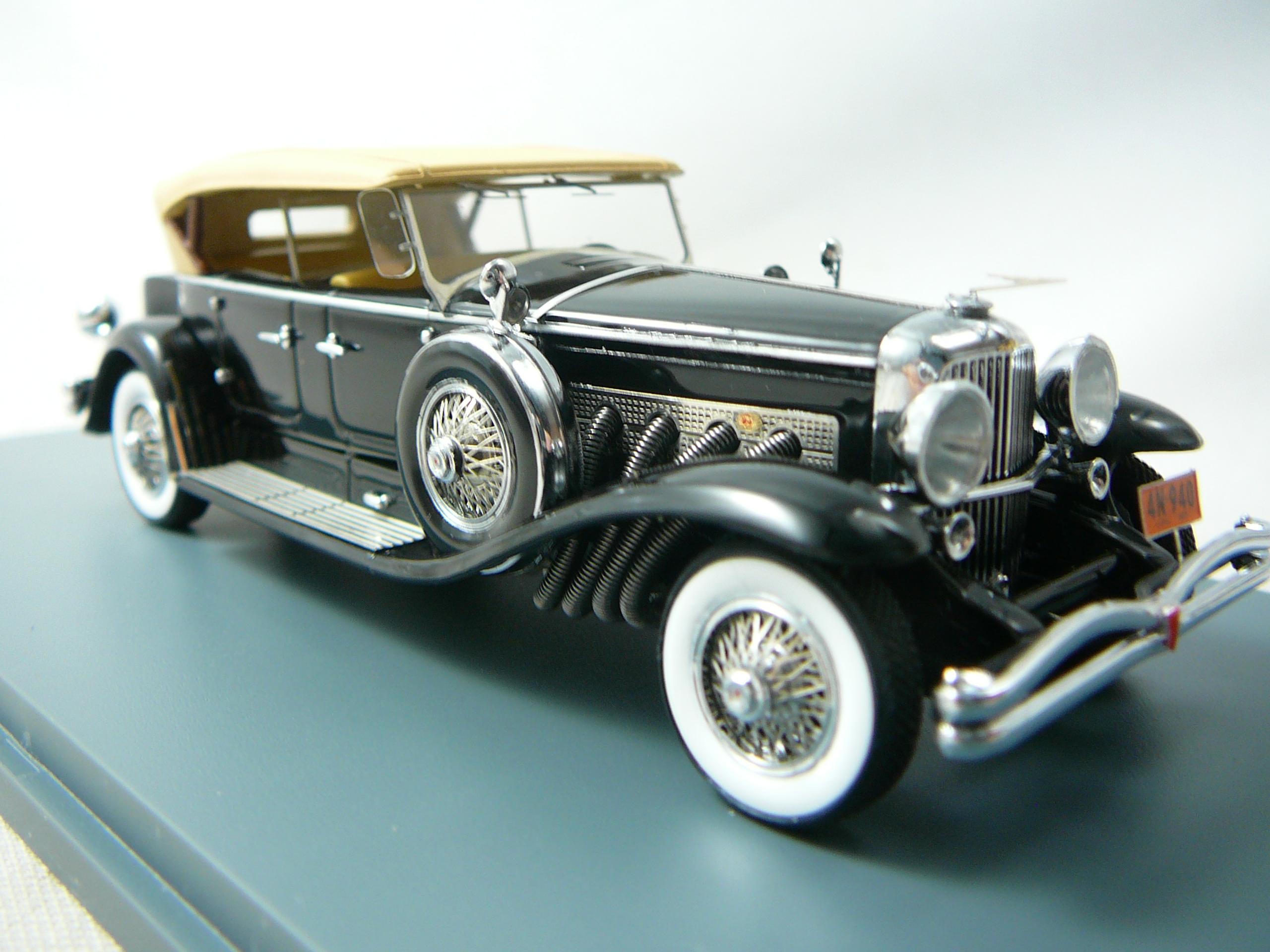 voiture miniature duesenberg 1930 de collection. Black Bedroom Furniture Sets. Home Design Ideas
