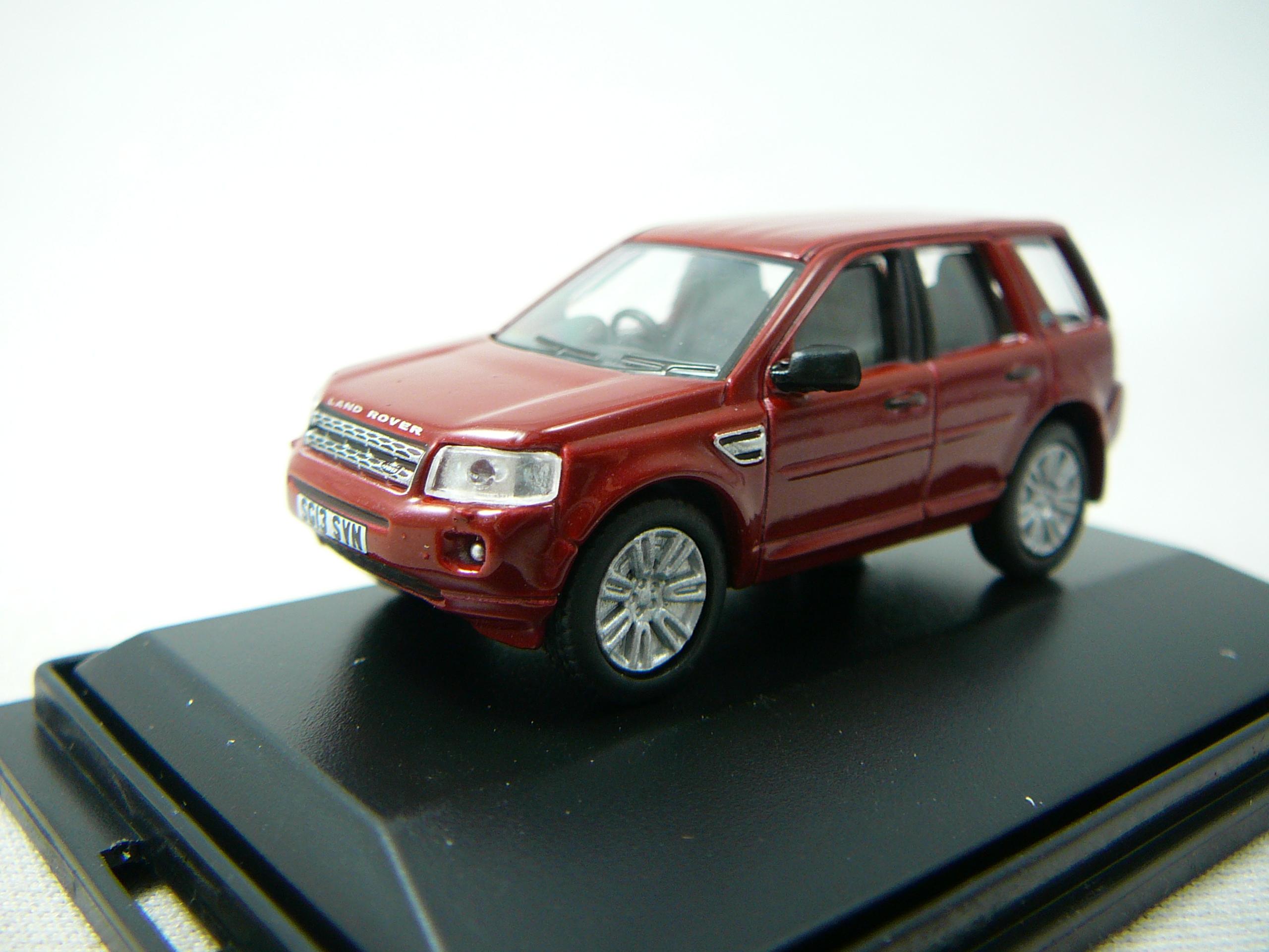 land rover freelander miniature 1 76 oxford ox 76fre001 freeway01 voitures miniatures de. Black Bedroom Furniture Sets. Home Design Ideas