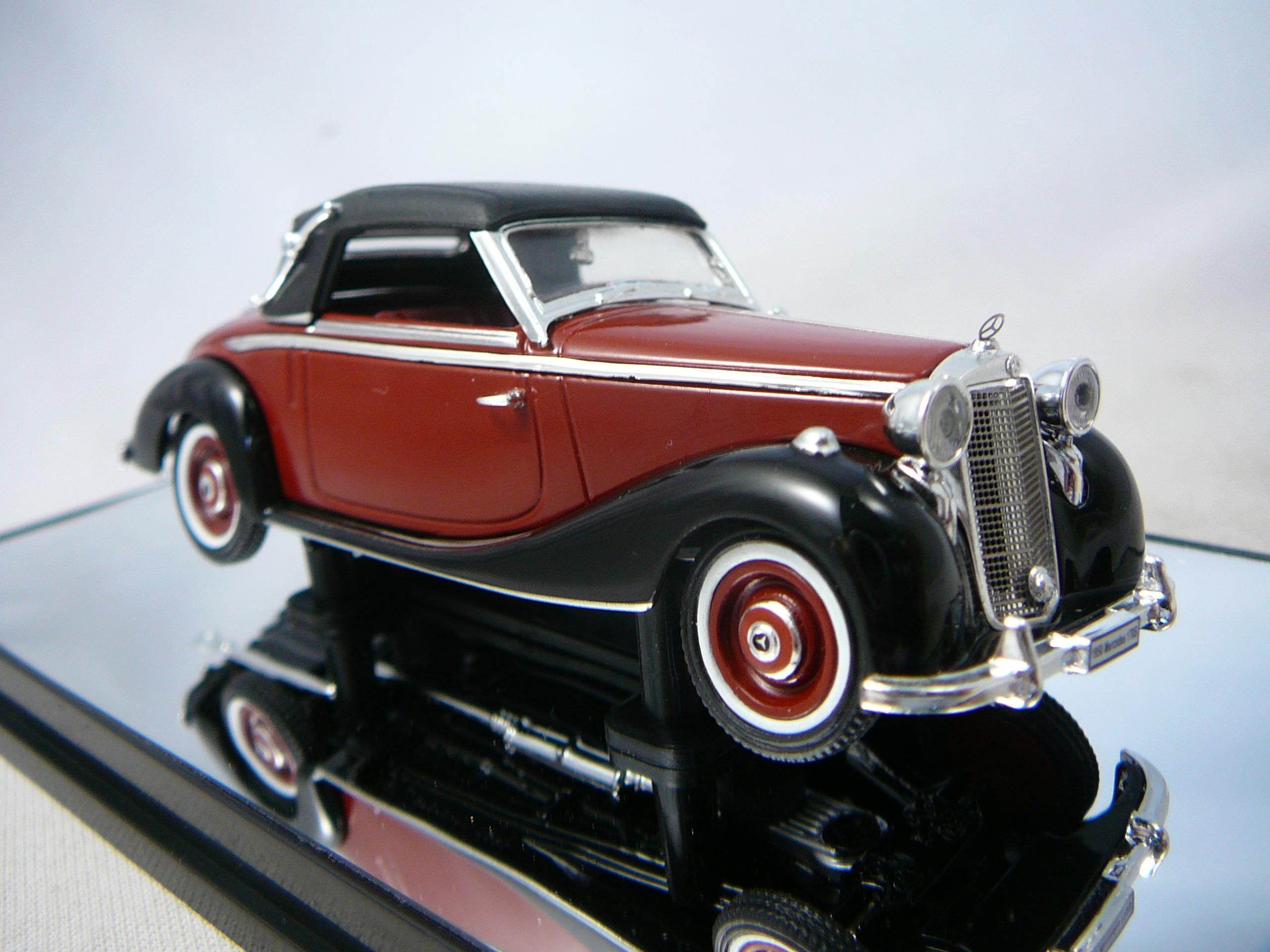 mercedes benz 170s 1950 miniature 1 43 signature sig 43708. Black Bedroom Furniture Sets. Home Design Ideas
