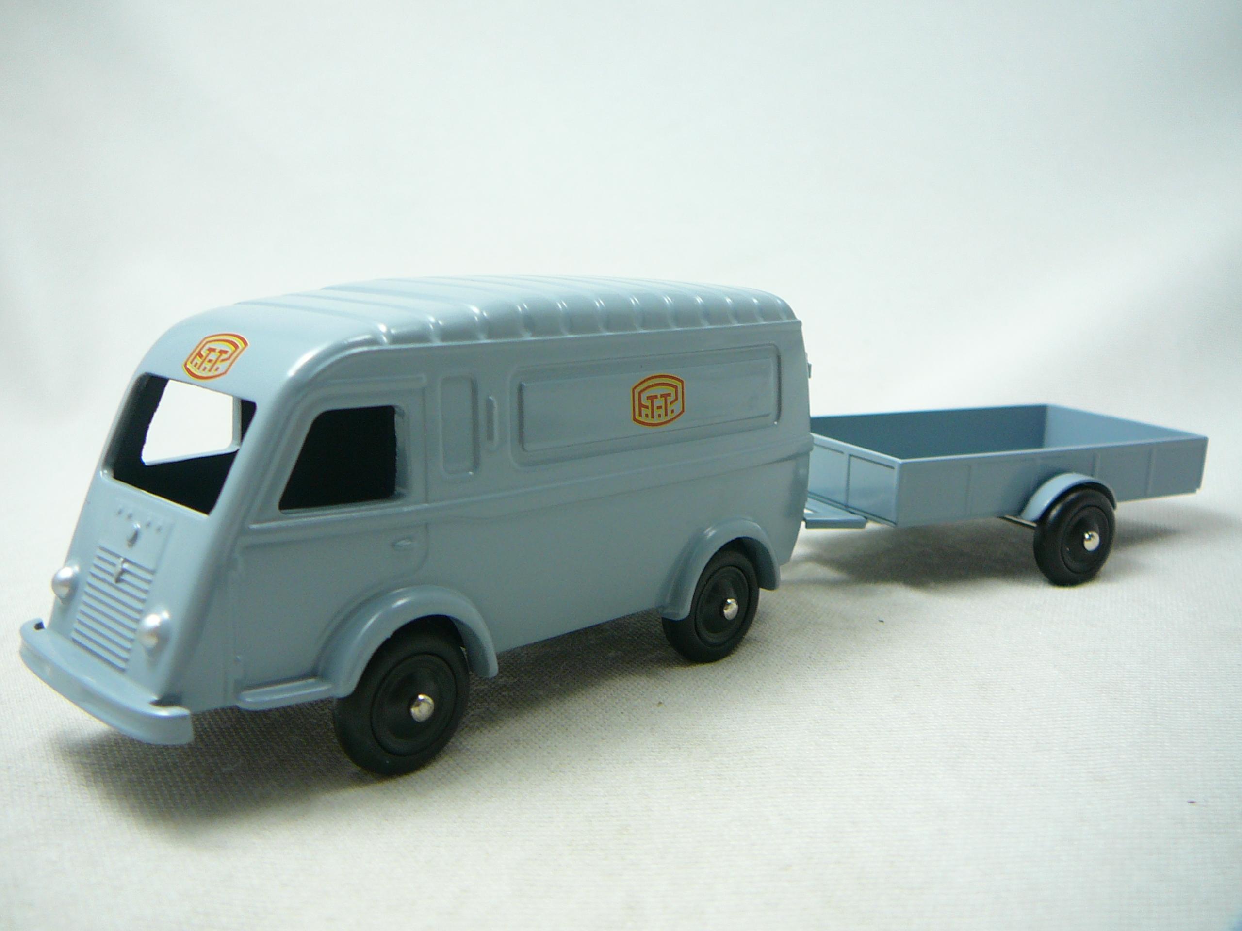Renault 1000kg Ptt Avec Remorque Miniature 1 43 Cij Cij