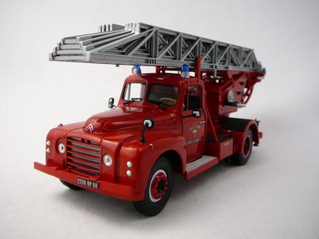 citroen t46 camion pompiers echelle pivotante 1962 miniature 1 43 norev no 159985 freeway01. Black Bedroom Furniture Sets. Home Design Ideas