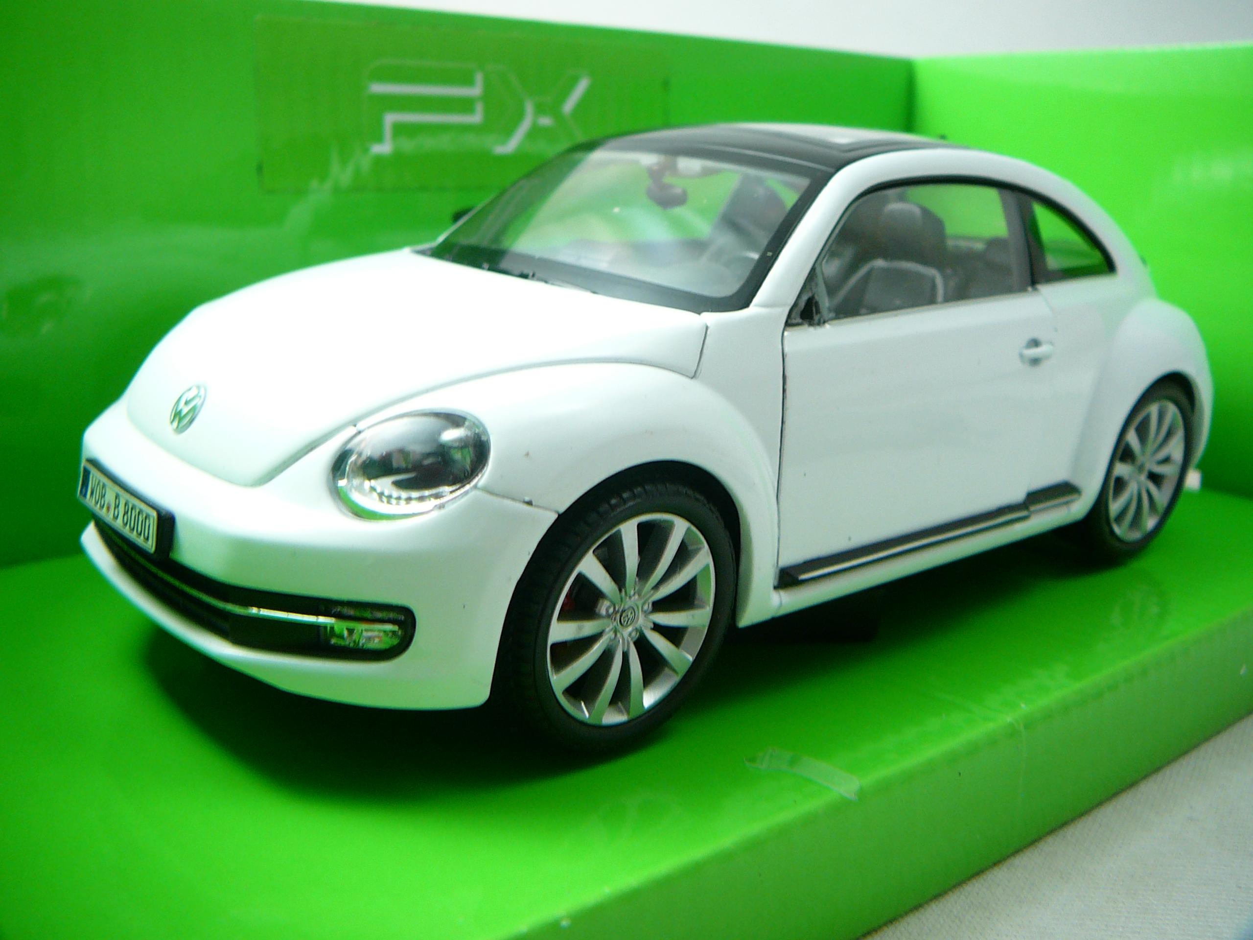 volkswagen new beetle 2012 miniature 1 24 welly wel 24032 freeway01 voitures miniatures de. Black Bedroom Furniture Sets. Home Design Ideas