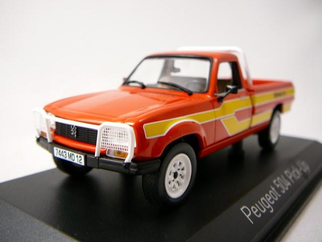 miniature voiture peugeot 504 pick up 4x4 dangel 1985 norev. Black Bedroom Furniture Sets. Home Design Ideas