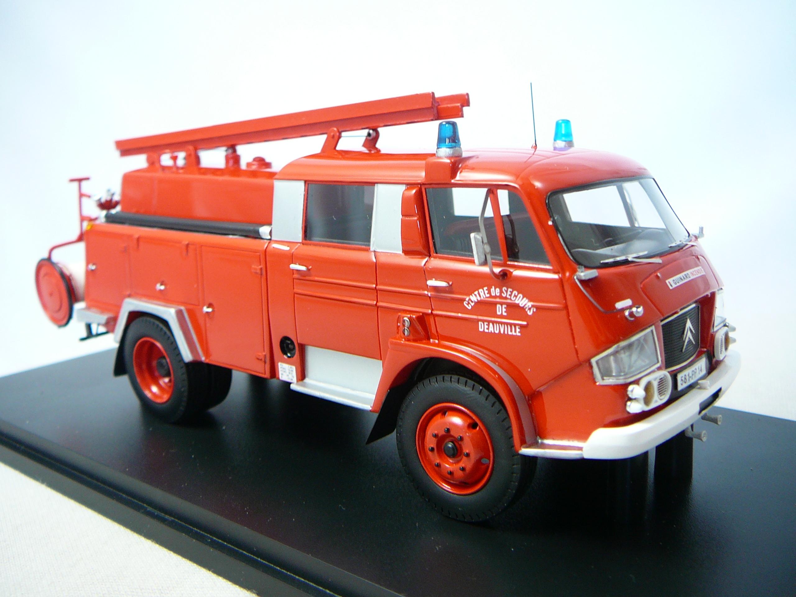 Citroen 700 Fpt Guinard Pompiers 14 Deauville Miniature 1