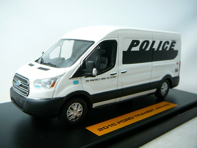 miniature fourgon ford transit police greenlight. Black Bedroom Furniture Sets. Home Design Ideas