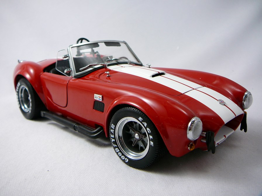 Shelby Cobra 427/SC Racing Roadster 1/18 Kyosho