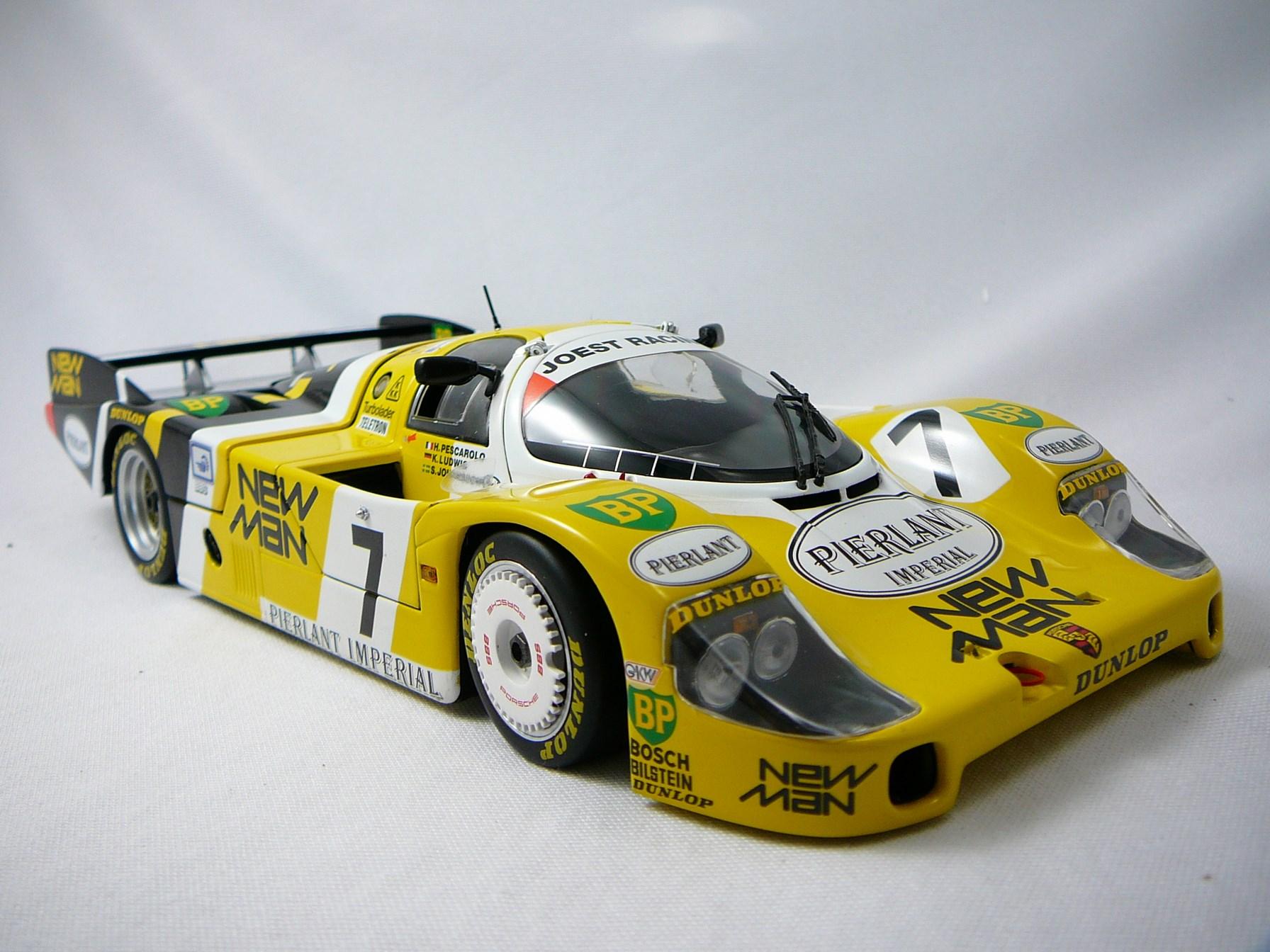 Porsche 956 L Newman n�7 Winner Le Mans 1984 1/18 Minichamps