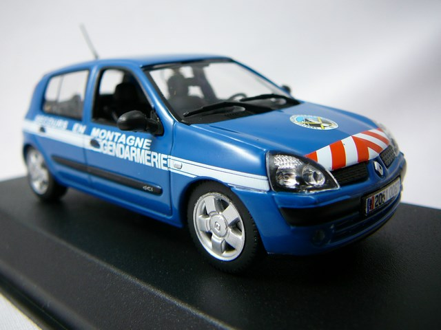 Renault Clio 2003 Gendarmerie Secours en Montagne 1/43 Norev