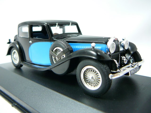 Bugatti Type 57 Galibier 1935 1/43 Ixo Museum