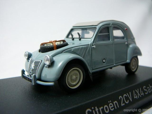 Citroen 2CV 4X4 Sahara Miniature 1/43 Norev