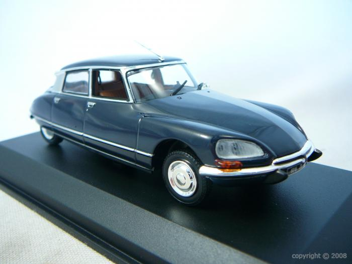 Citroen DS23 Pallas Miniature 1/43 Norev