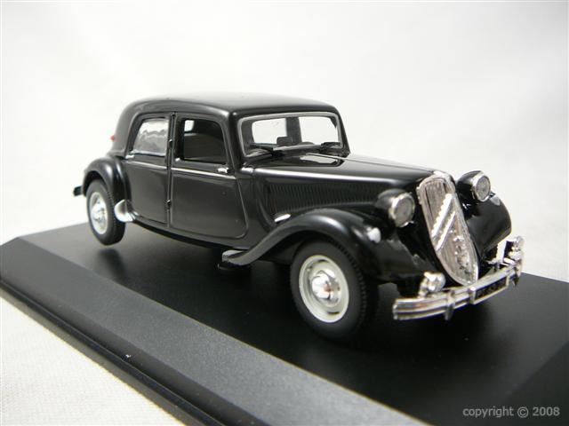 Citroen Traction 15 Six H 1955 Miniature 1/43 Norev