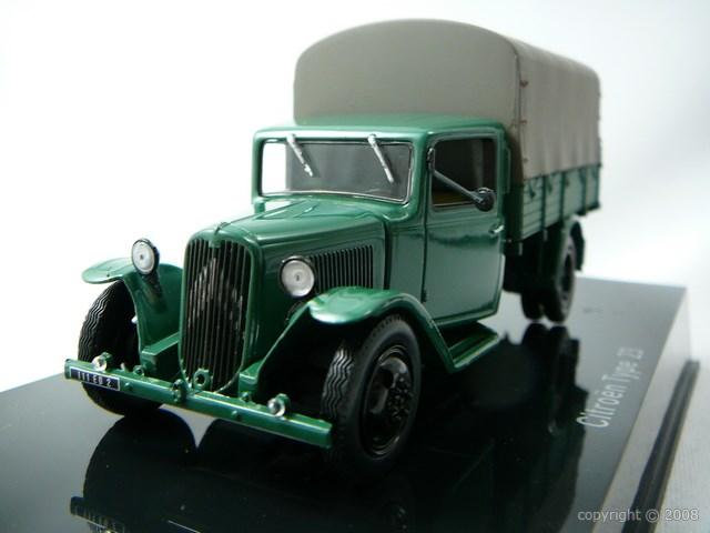 Camion Citroen Type 23 Miniature 1/43 Norev