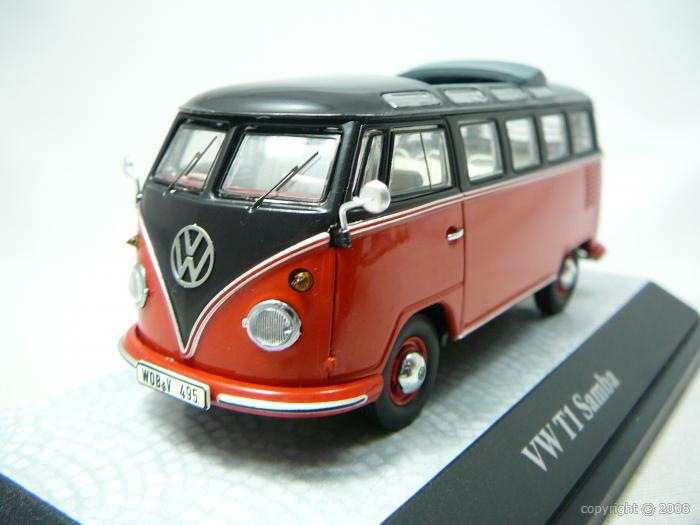 Volkswagen T1 Samba Miniature 1/43 Premium Classixxs