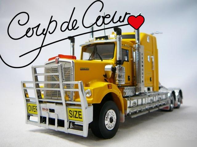 Miniature camion Kenworth - Coup de cœur