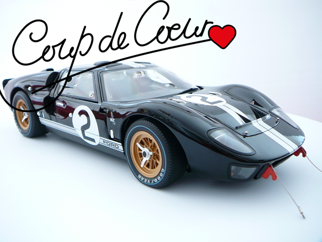 Miniature 1/12 Voiture Ford GT