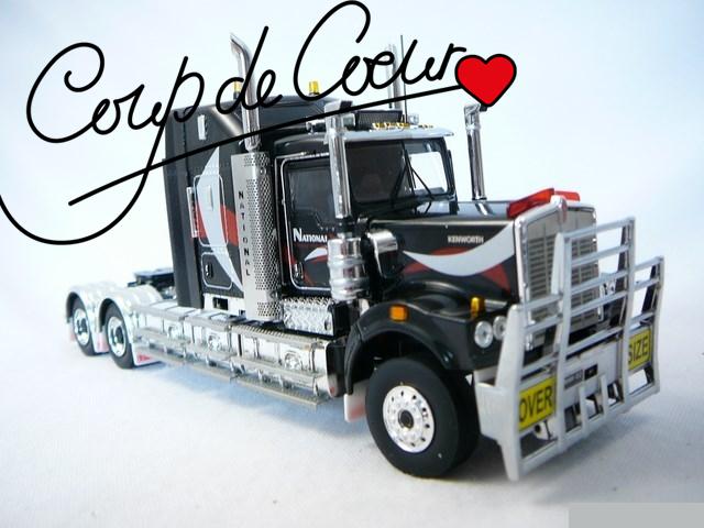 Miniature camion Kenworth - Coup de cœur de mai