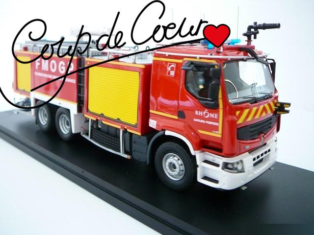 Miniature camion de pompier