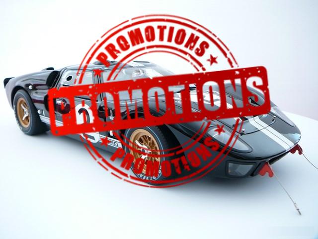 Promotions voitures miniatures
