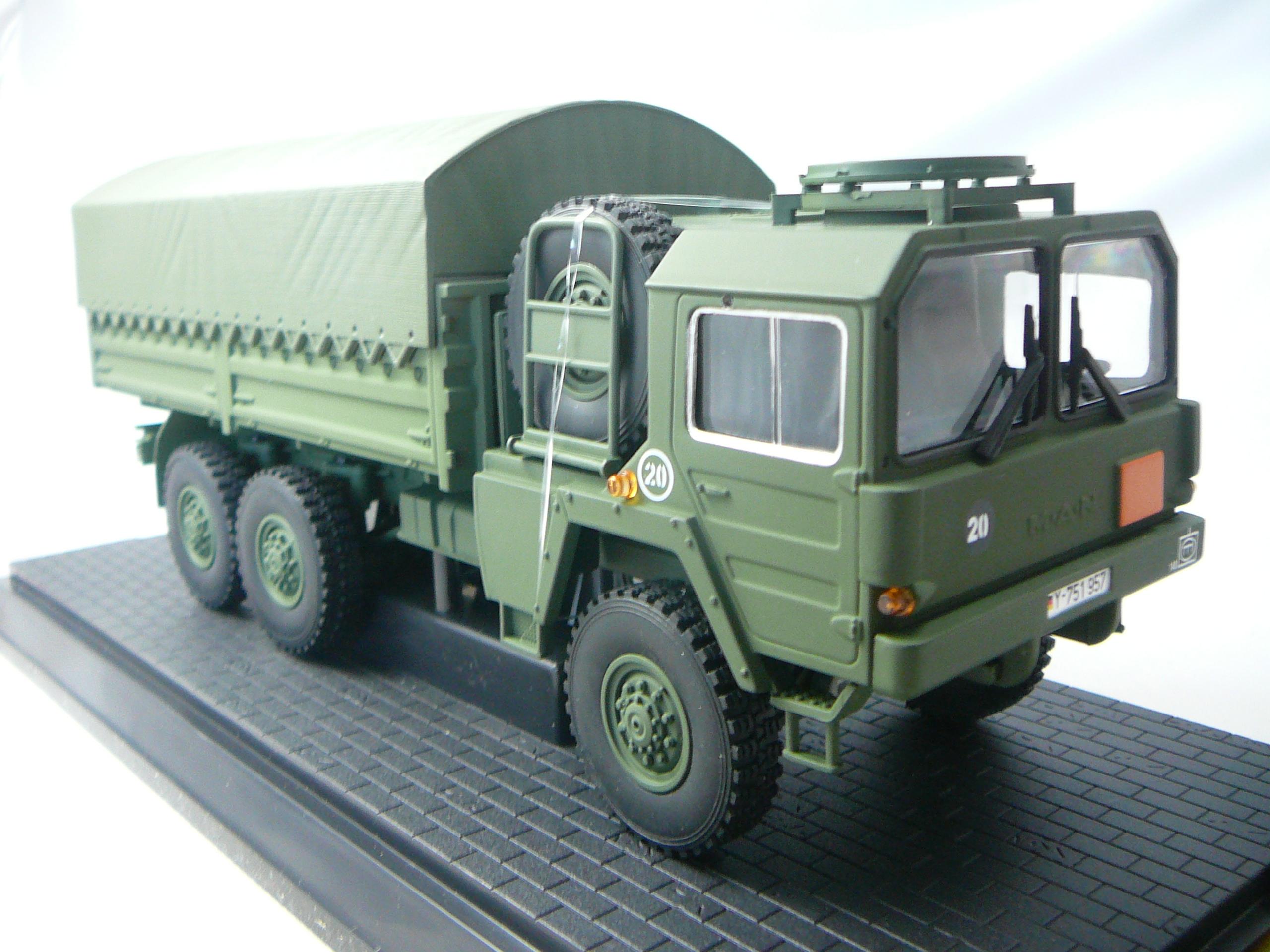 man 7t gl kat1 camion plateau bach militaire 6x6. Black Bedroom Furniture Sets. Home Design Ideas