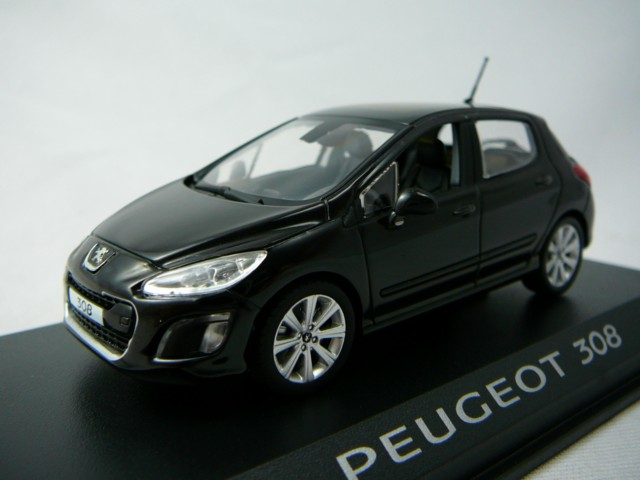 peugeot 308 berline 2011 miniature 1 43 norev no 473805 freeway01 voitures miniatures de. Black Bedroom Furniture Sets. Home Design Ideas