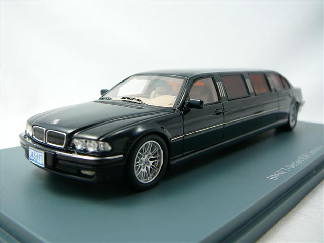 bmw serie 7 e38 stretch limousine miniature 1 43 neo neo 45345 freeway01 voitures miniatures. Black Bedroom Furniture Sets. Home Design Ideas