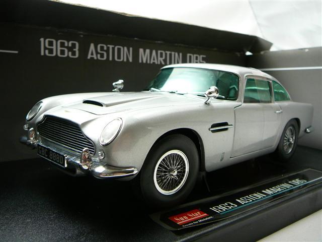 aston martin db5 1963 miniature 1 18 sun star sun 1005 freeway01 voitures miniatures de. Black Bedroom Furniture Sets. Home Design Ideas