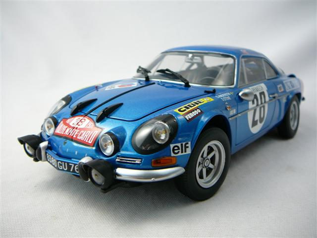 alpine renault a110 1600s n 28 vainqueur rallye monte carlo 1971 miniature 1 18 kyosho kyo. Black Bedroom Furniture Sets. Home Design Ideas