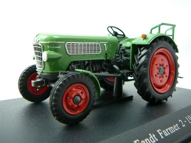 fendt farmer 2 tracteur agricole 1961 miniature 1 43 universal hobbies unh 6100 freeway01. Black Bedroom Furniture Sets. Home Design Ideas