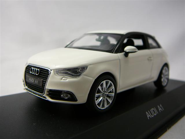 audi a1 miniature 1 43 kyosho kyo 03801aw freeway01 voitures miniatures de collection de. Black Bedroom Furniture Sets. Home Design Ideas