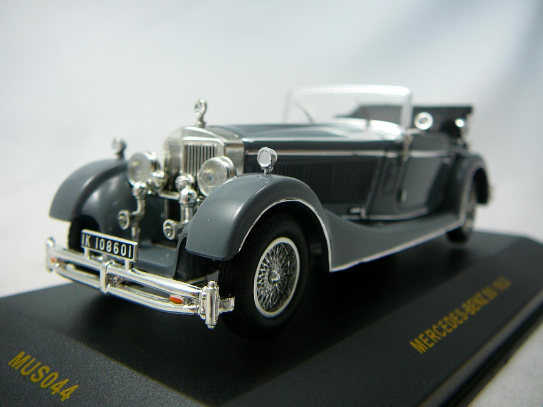 mercedes benz ss 1933 miniature 1 43 ixo museum ixo mus044. Black Bedroom Furniture Sets. Home Design Ideas