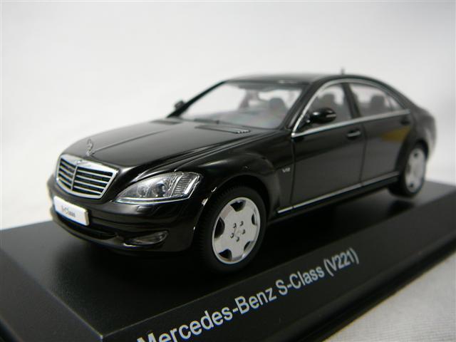 Mercedes benz s600l v221 miniature 1 43 kyosho kyo for Mercedes benz s600l