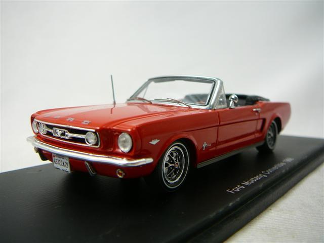 ford mustang convertible 1966 miniature 1 43 spark s 2639 freeway01 voitures miniatures de. Black Bedroom Furniture Sets. Home Design Ideas
