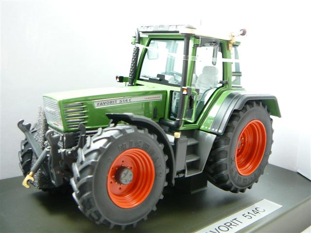 Fendt Favorit 514c Tracteur Agricole Miniature 1 32 Weise