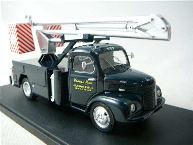 camion avec nacelle