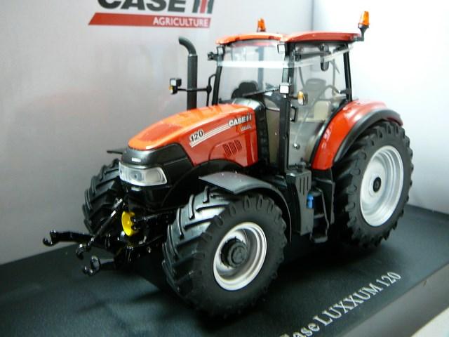 Miniature case ih luxxum 120 tracteur agricole universal for Case agricole
