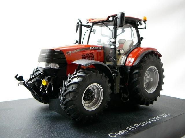 Miniature case ih puma 240 cvx tracteur agricole universal for Case agricole