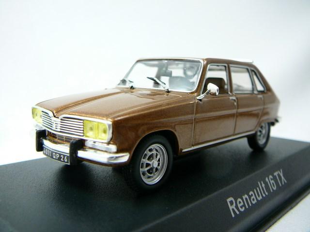 miniature voiture renault r16 tx 1976 norev. Black Bedroom Furniture Sets. Home Design Ideas