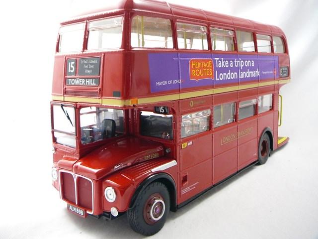 miniature bus aec routemaster sunstar. Black Bedroom Furniture Sets. Home Design Ideas