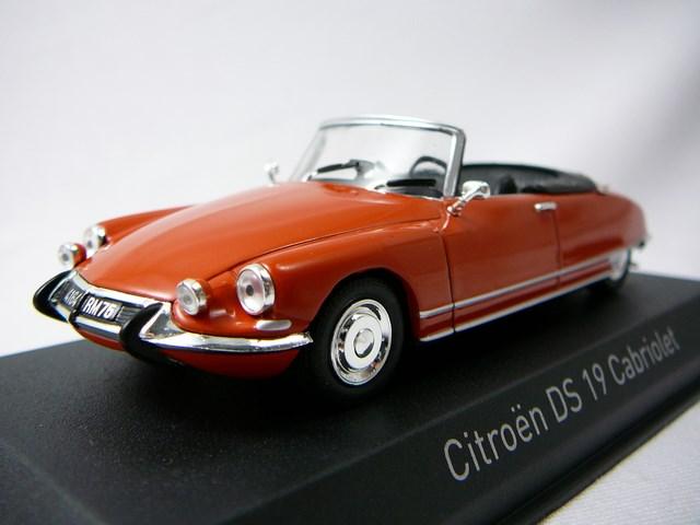 miniature citroen ds19 cabriolet 1965 norev. Black Bedroom Furniture Sets. Home Design Ideas