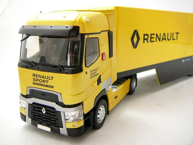 miniature camion renault t520 high renault sport 2016 eligor. Black Bedroom Furniture Sets. Home Design Ideas