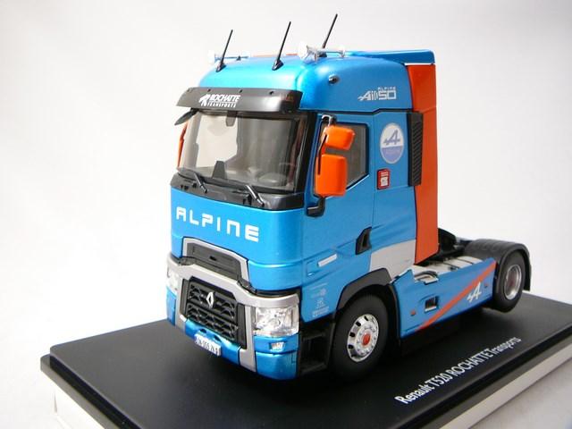 miniature renault trucks tracteur routier t520 alpine transports rochatte eligor. Black Bedroom Furniture Sets. Home Design Ideas
