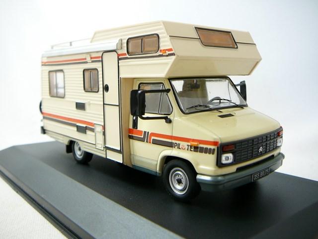 miniature citroen c25 camping car 1985 ixo. Black Bedroom Furniture Sets. Home Design Ideas