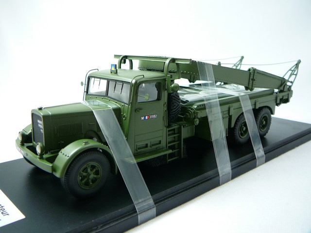 Miniature Camion Militaire Berliet Gpe 4 Porte Char 1940