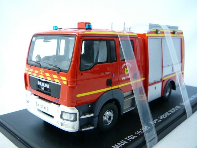 miniature camion man tgl heinis fptl 68 haut rhin pompiers riquewihr alerte. Black Bedroom Furniture Sets. Home Design Ideas
