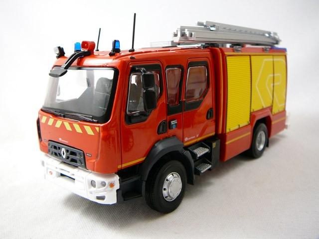 miniature renault d15 ftp camion pompiers eligor. Black Bedroom Furniture Sets. Home Design Ideas