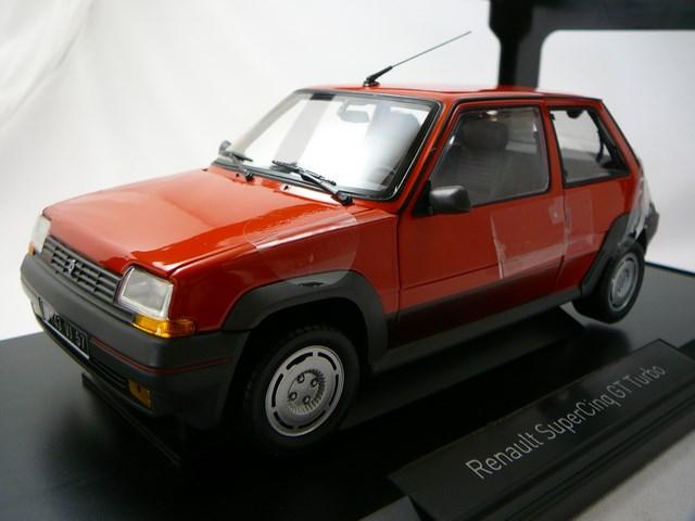 miniature voiture renalt super 5 gt turbo 1986 norev. Black Bedroom Furniture Sets. Home Design Ideas