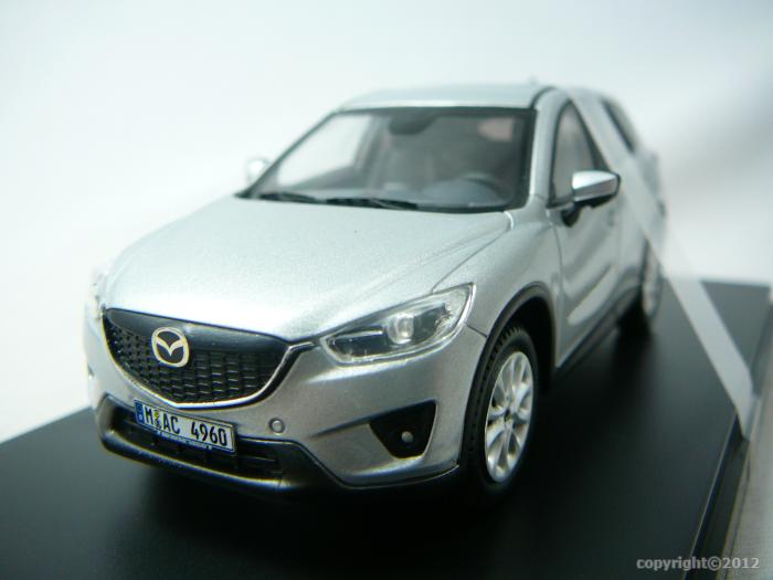 mazda cx 5 crossover 2012 miniature 1 43 ixo premiumx ixo prd0355 freeway01 voitures. Black Bedroom Furniture Sets. Home Design Ideas