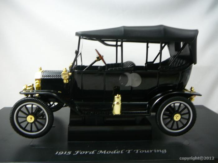 Ford Model T Roadster Soft Top 1915 Miniature 1 18 Motor