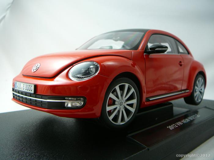 volkswagen new beetle 2012 miniature 1 18 welly wel 18042 freeway01 voitures miniatures de. Black Bedroom Furniture Sets. Home Design Ideas
